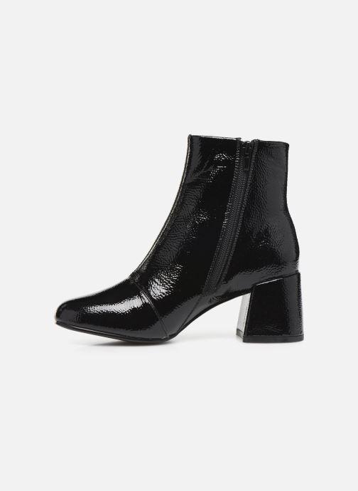 Bottines et boots ONLY ONLBIMBA  HEELED ZIP  BOOTIE 15184248 Noir vue face