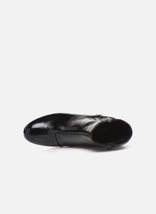 Bottines et boots ONLY ONLBIMBA  HEELED ZIP  BOOTIE 15184248 Noir vue gauche