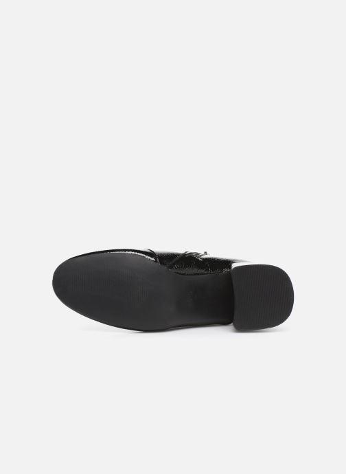 Bottines et boots ONLY ONLBIMBA  HEELED ZIP  BOOTIE 15184248 Noir vue haut