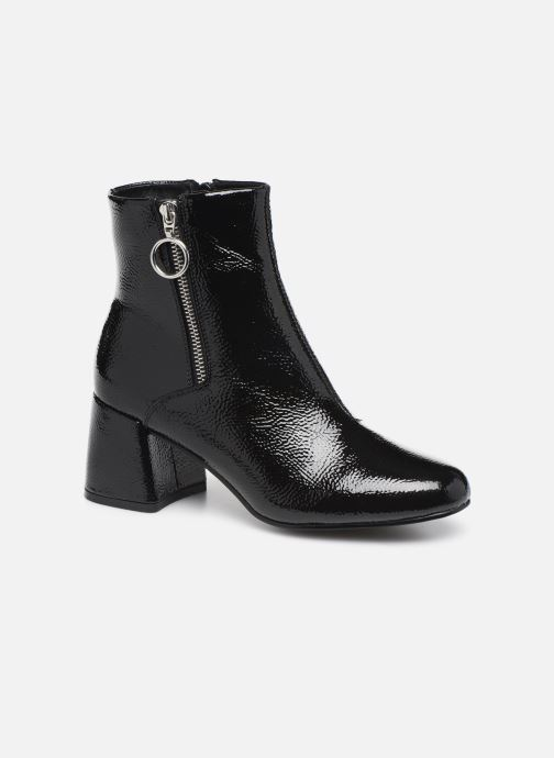 Ankle boots ONLY ONLBIMBA  HEELED ZIP  BOOTIE 15184248 Black detailed view/ Pair view