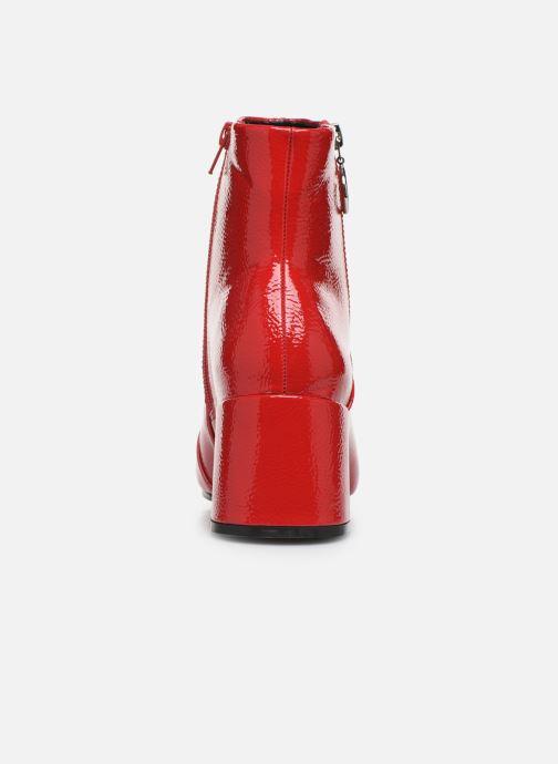 Bottines et boots ONLY ONLBIMBA  HEELED ZIP  BOOTIE 15184248 Rouge vue droite