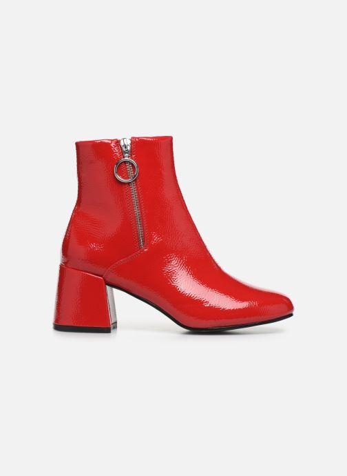 Bottines et boots ONLY ONLBIMBA  HEELED ZIP  BOOTIE 15184248 Rouge vue derrière