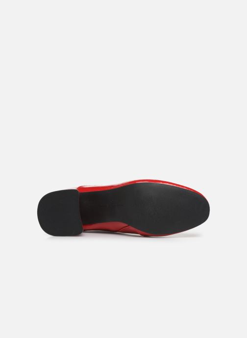 Bottines et boots ONLY ONLBIMBA  HEELED ZIP  BOOTIE 15184248 Rouge vue haut