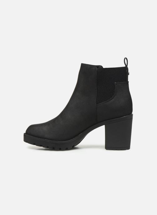 Bottines et boots ONLY ONLBARBARA HELLED BOOTIE  NOOS 15184295 Noir vue face