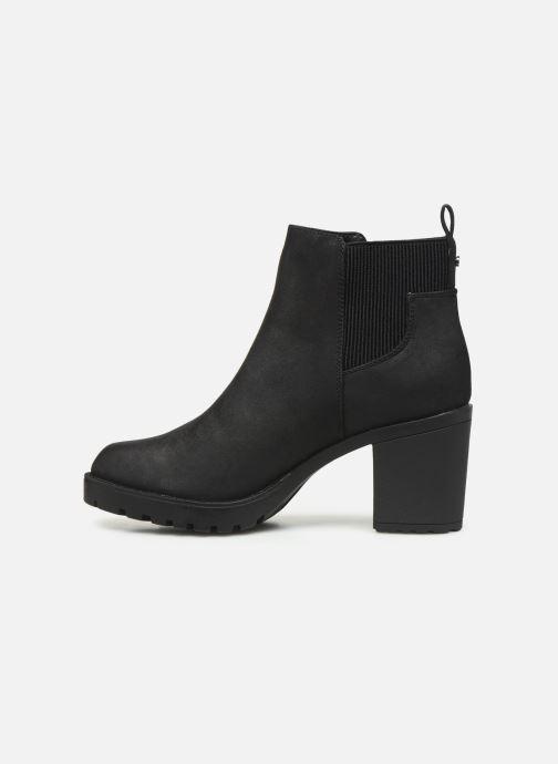Boots en enkellaarsjes ONLY ONLBARBARA HELLED BOOTIE  NOOS 15184295 Zwart voorkant