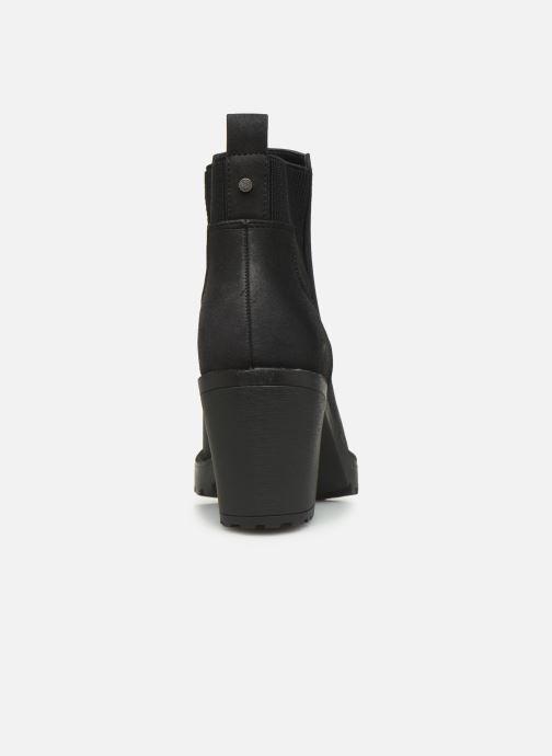 Boots en enkellaarsjes ONLY ONLBARBARA HELLED BOOTIE  NOOS 15184295 Zwart rechts