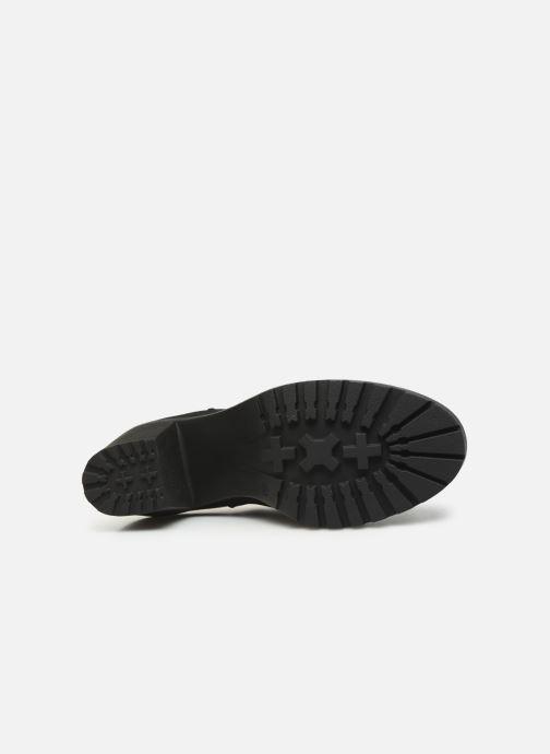 Bottines et boots ONLY ONLBARBARA HELLED BOOTIE  NOOS 15184295 Noir vue haut