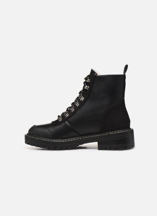 Stiefeletten & Boots ONLY ONLBOLD  LACE UP  PU  WINTER  BOOTIE 15184266 schwarz ansicht von vorne