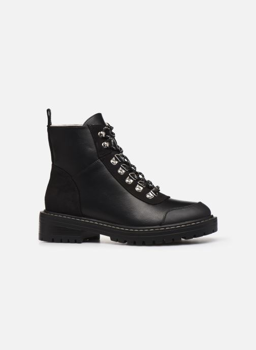 Stiefeletten & Boots ONLY ONLBOLD  LACE UP  PU  WINTER  BOOTIE 15184266 schwarz ansicht von hinten