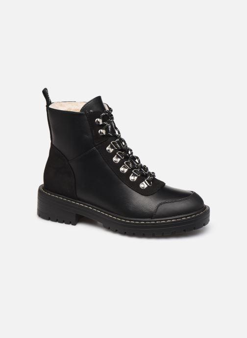 Bottines et boots ONLY ONLBOLD  LACE UP  PU  WINTER  BOOTIE 15184266 Noir vue détail/paire
