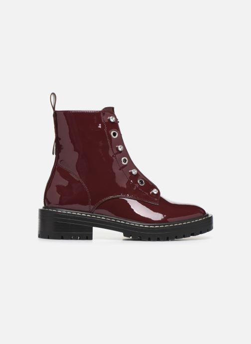 Bottines et boots ONLY ONLBOLD  LACE UP  PATENT  BOOTIE 15184270 Bordeaux vue derrière