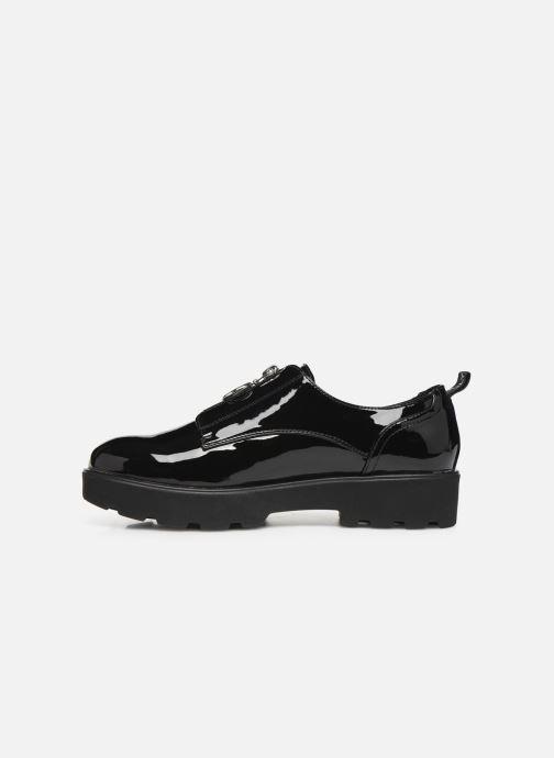 Chaussures à lacets ONLY ONLBINNY PU ZIP UP  15184254 Noir vue face