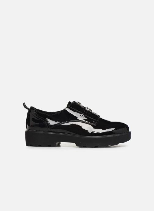 Chaussures à lacets ONLY ONLBINNY PU ZIP UP  15184254 Noir vue derrière