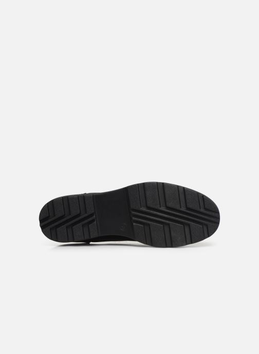 Chaussures à lacets ONLY ONLBINNY PU ZIP UP  15184254 Noir vue haut