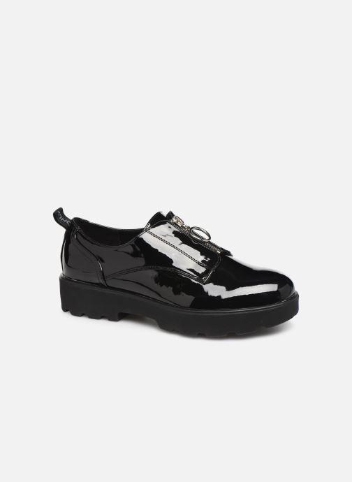 Chaussures à lacets ONLY ONLBINNY PU ZIP UP  15184254 Noir vue détail/paire
