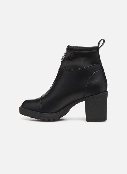Bottines et boots ONLY ONLBARBARA HEELED SOCK  BOOTIE 15184240 Noir vue face