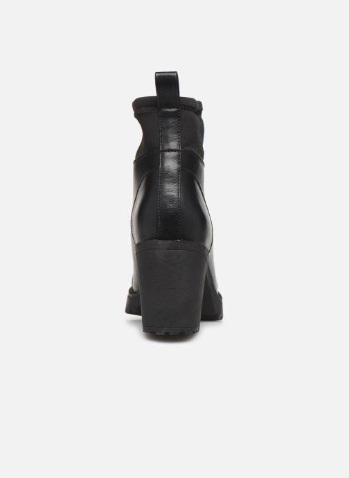 Bottines et boots ONLY ONLBARBARA HEELED SOCK  BOOTIE 15184240 Noir vue droite
