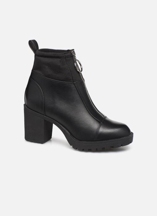 Bottines et boots ONLY ONLBARBARA HEELED SOCK  BOOTIE 15184240 Noir vue détail/paire