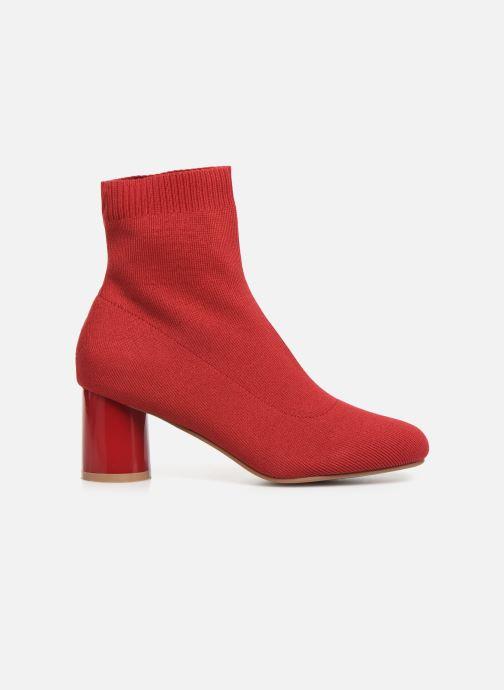 Bottines et boots ONLY ONLBIMBA  HEELED  SOCK  BOOTIE  15184252 Rouge vue derrière