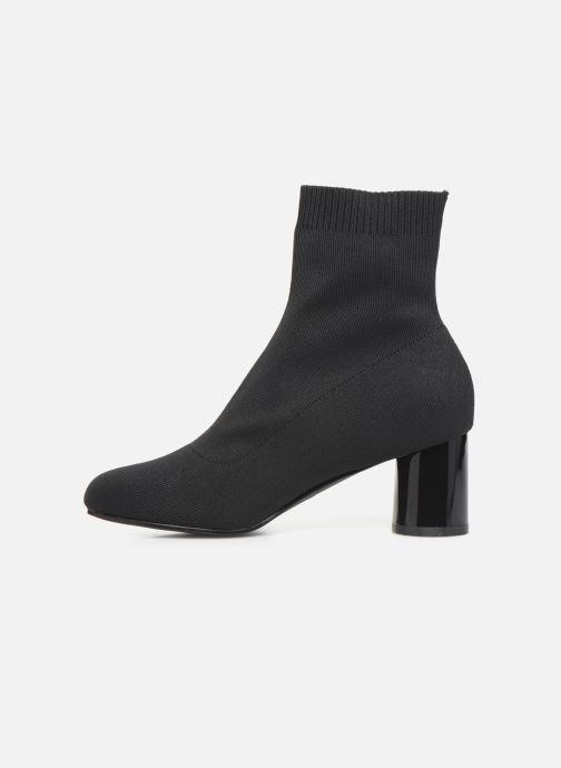 Bottines et boots ONLY ONLBIMBA  HEELED  SOCK  BOOTIE  15184252 Noir vue face