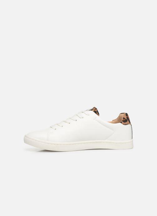 Sneakers ONLY ONLSILJA  DETAIL  PU SNEAKER 15184168 Wit voorkant