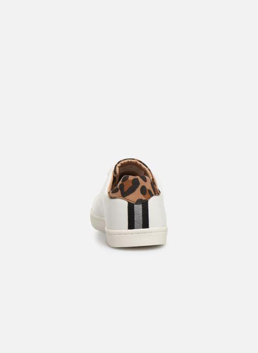 Sneakers ONLY ONLSILJA  DETAIL  PU SNEAKER 15184168 Wit rechts