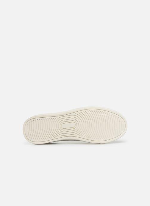 Baskets ONLY ONLSILJA  DETAIL  PU SNEAKER 15184168 Blanc vue haut