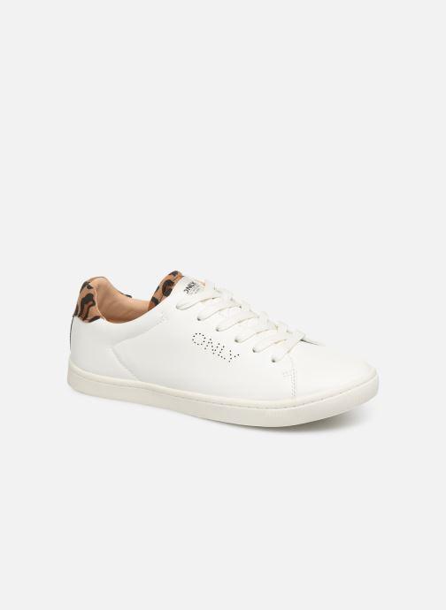 Sneakers ONLY ONLSILJA  DETAIL  PU SNEAKER 15184168 Hvid detaljeret billede af skoene
