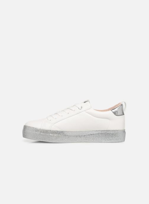Sneakers ONLY ONLSHERBY GLITTER  PU SNEAKER 15184239 Wit voorkant