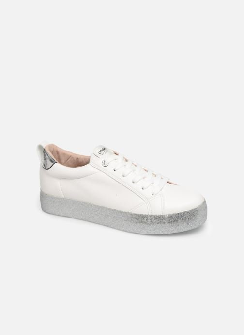 Baskets ONLY ONLSHERBY GLITTER  PU SNEAKER 15184239 Blanc vue détail/paire