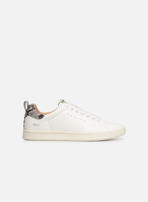 Sneakers ONLY ONLSHILO SNAKE  SNEAKER  15184166 Wit achterkant