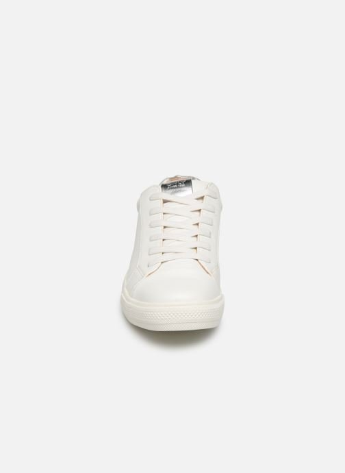 Baskets ONLY ONLSKYE  TOE CAP  SNEAKER NOOS 15184293 Blanc vue portées chaussures
