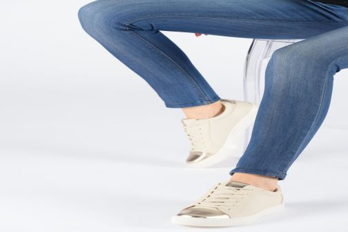 Trainers ONLY ONLSKYE  TOE CAP  SNEAKER NOOS 15184293 Beige view from underneath / model view