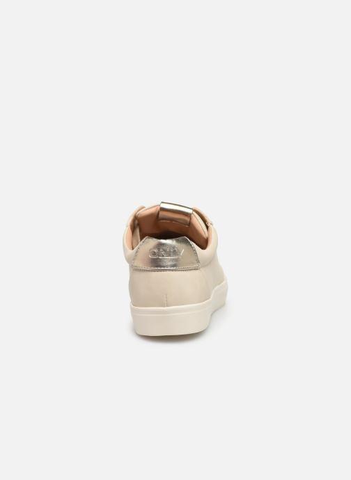 Sneakers ONLY ONLSKYE  TOE CAP  SNEAKER NOOS 15184293 Beige rechts