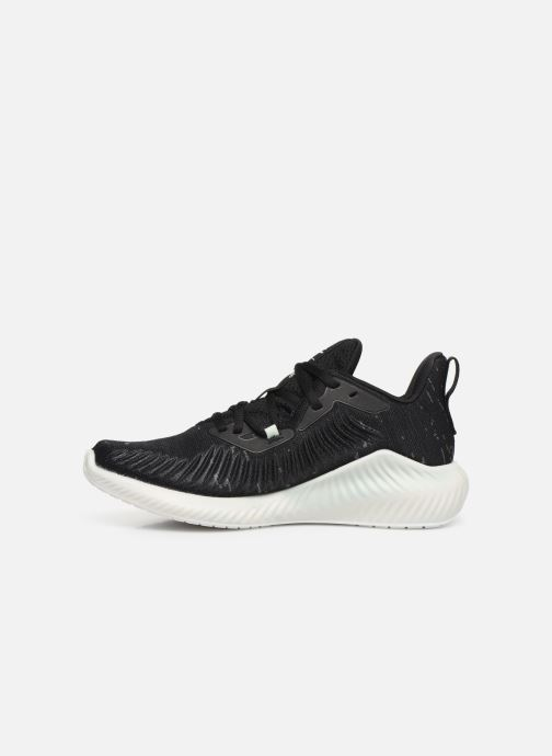 Scarpe sportive adidas performance alphabounce+ PARLEY w Nero immagine frontale