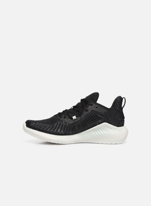 Chaussures de sport adidas performance alphabounce+ PARLEY w Noir vue face