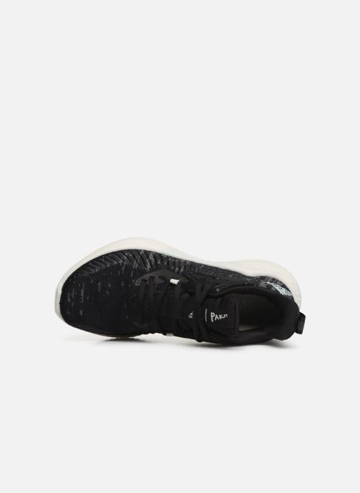 Scarpe sportive adidas performance alphabounce+ PARLEY w Nero immagine sinistra