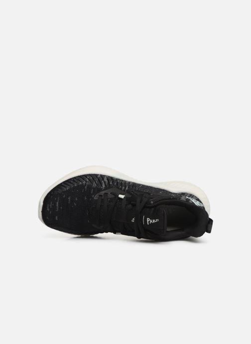 Chaussures de sport adidas performance alphabounce+ PARLEY w Noir vue gauche