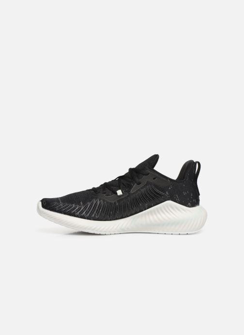 Chaussures de sport adidas performance alphabounce+ PARLEY m Noir vue face