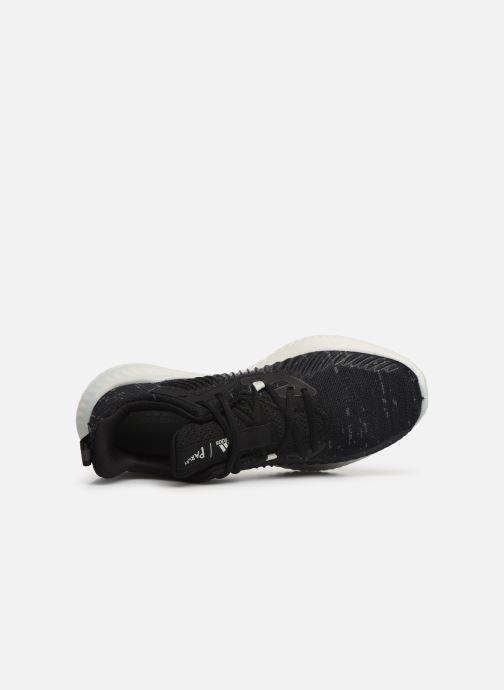 Chaussures de sport adidas performance alphabounce+ PARLEY m Noir vue gauche