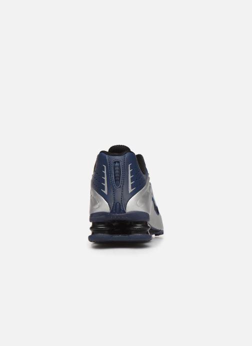 Sneakers Nike Nike Shox R4 Blauw rechts