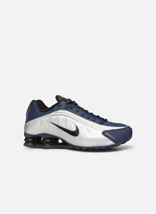 Sneakers Nike Nike Shox R4 Blauw achterkant