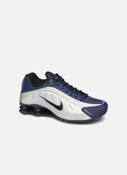 Sneakers Nike Nike Shox R4 Blauw detail