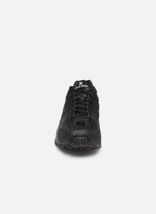 Sneaker Nike Nike Shox R4 schwarz schuhe getragen