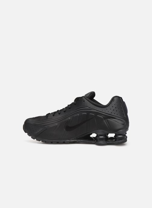 Sneaker Nike Nike Shox R4 schwarz ansicht von vorne