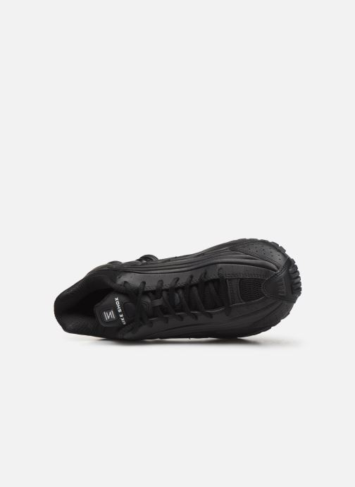 Sneaker Nike Nike Shox R4 schwarz ansicht von links
