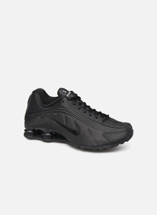Deportivas Nike Nike Shox R4 Negro vista de detalle / par