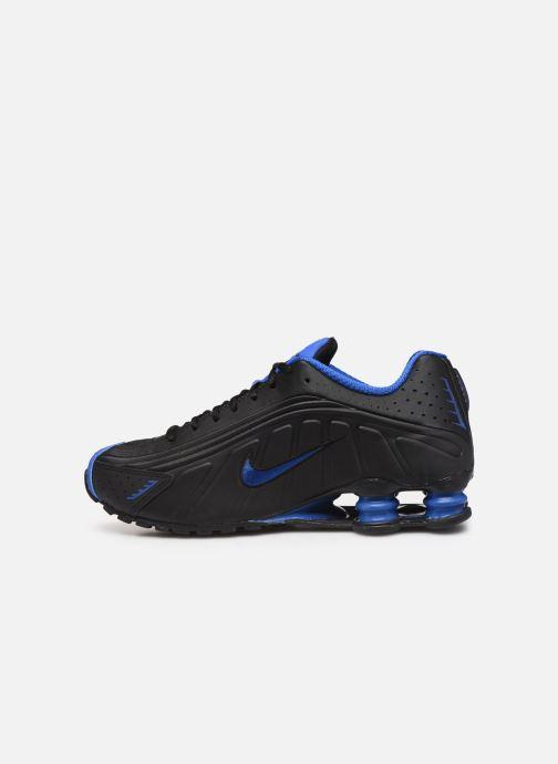 Baskets Nike Nike Shox R4 Noir vue face