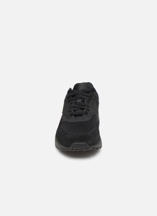 Sneaker Nike Wmns Air Max 1 schwarz schuhe getragen
