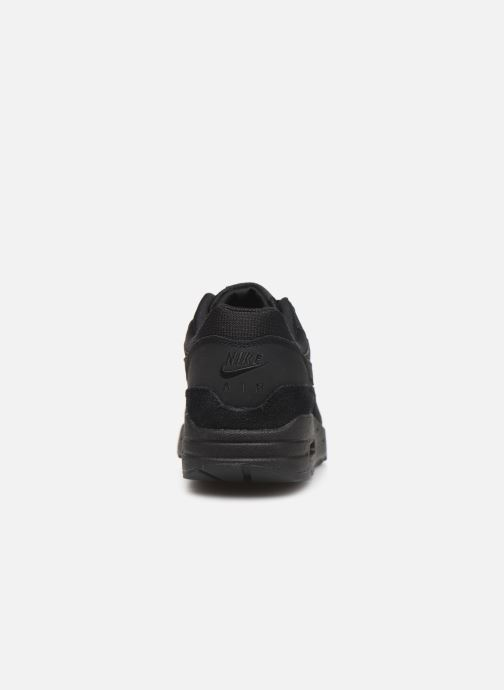 Sneaker Nike Wmns Air Max 1 schwarz ansicht von rechts